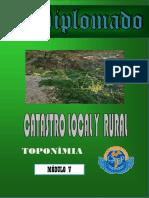 Modulo 5 - V- Catastro Local y Rural