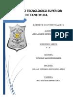 Principales Parametros Estadisiticos Nacionales