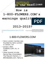 1800flowers Earnings Quality Ppt 2