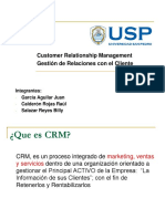 Presentaciones - CRM