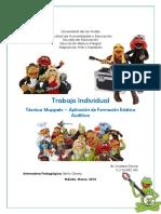 Trabajo Individual. Tecnica Muppet