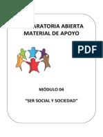 Ser Social y Sociedad Concentrado Nuples