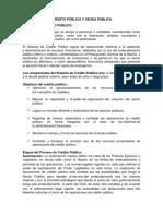 Texto de Financiero y b.