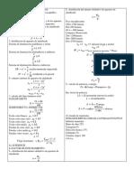 Instalaciones 1 Formulas