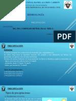 CLASE N° 05 - HIDROLOGIA