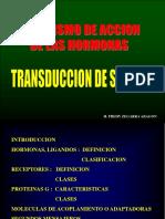 Transduccion de Señales 2016
