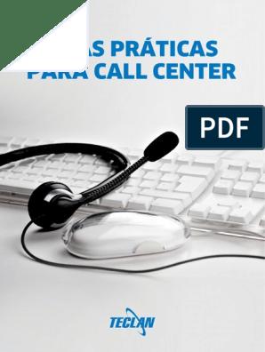 Boas Praticas Para Call Center Pdf Centro De Atendimento
