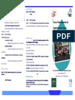 Curso Internacional de Ingenieria Del Agua