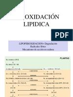 peroxidacion