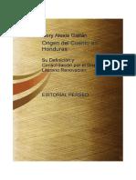 El Cuento en Honduras Su Definicion y Consolidacion Por El Grupo Literario Renovacion (1)