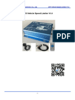 GPS Vehicle Speed Limiter SF-302