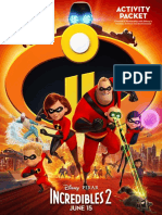 incredibles 2 activity packet