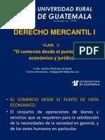Derecho Mercantil i Clase 1