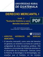 Derecho Mercantil i Clase 2