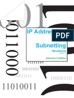 IP Addressing and Sub Netting Workbook - Instructors Version 1_5-1