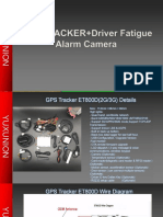 YX05 driver fatigue + gps tracker -yuxunion