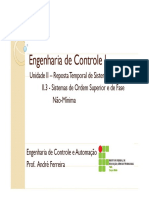 03EngContI-Resposta Temporal Sistemas Lineares-Ordem Superior