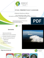 Cambio Climatico Perspectivas y Acciones