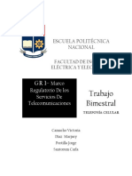 Informe Ejecutivo Telefonía Celular