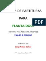 Album de partitura para flauta doce - Jorge Nobre  .pdf