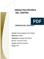 Crónicas Del Petróleo