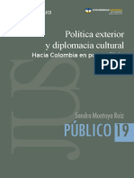 Diplomacia Cultural COlOMBIA