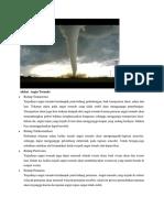 Akibat Angin Tornado