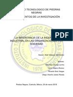 Importancia de La Ingenieria Industrial_monografia