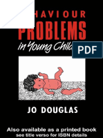 Behaviour Problems in Young Children Assessment and Management