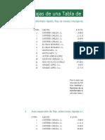 01 Las Sorprendentes Tablas de Excel