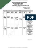 B.tech R15 3-2 Sem Mid I Exams Timetable Feb 2018