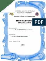 Comunicación en Una Organización