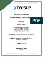 10 Laboratorio 7 Termodinámica - Gases Ideales