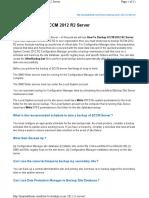 How to Backup SCCM 2012 R2 Server (1)