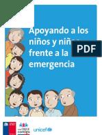 Apoyando a Los Ninios y Ninias Frente a La Emergencia