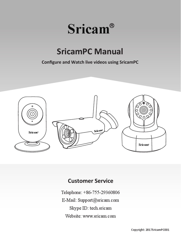 SricamPC Manual | Personal Computers | Computer Network