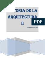 Historia de La Arquitectura II. Erick Meza Méndez