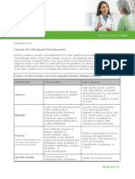 Causes for Urinalysis Discrepancies TABLE
