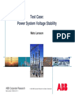 ABB Power System Voltage Stability