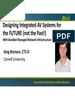 Designing Integrated Av