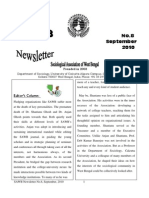 SAWB Newsletter 8 Sept 2010