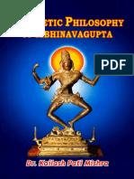 Aesthetic Philosophy of Abhinavagupta.pdf