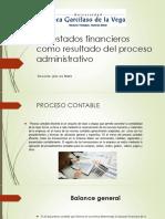 Los Estados Financieros Como Proceso Administrativo