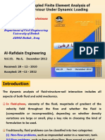 2015-Nonlinear Coupled Finite Element Analysis of a Dam-Reserviour Under Dynamic Loading
