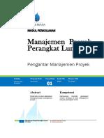 Manajemen Proyek Perangkat Lunak TI