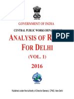 India - CPWD - Rate Analysis (Civil) - 2016 i & II