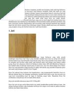 pkw jenis kayu