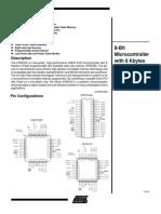 At89c52 Instruction Set