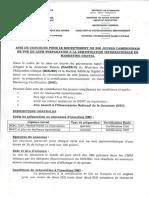 Concours CICHO Fr