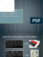 Diapositivas Falsificación de Sellos, Timbres y Marcas Oficiales